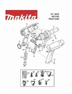 Buy Makita Hg1100 Type-2 Variable Temperature 250