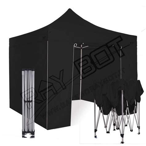 gazebo alluminio pieghevole 3x3 gazebo pieghevole 3x3 alluminio exa 45mm nero esagonale