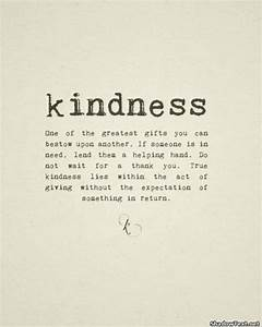 Simple Acts Of Kindness Quotes QuotesGram