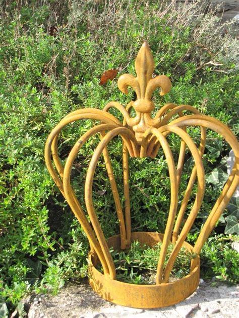 Gartendeko Edelrost by Gartendeko Krone Finn Aus Edelrost Klein Garden