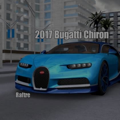 The car is based on the bugatti vision gran turismo concept car. Roblox Bugatti Chiron | How To Get Robux Back