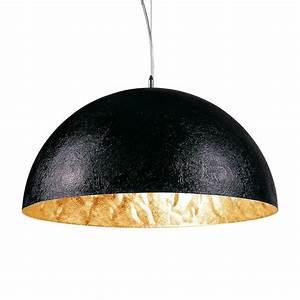 Pendelleuchte Schwarz : s luce blister pendelleuchte 55 cm schwarz gold ~ Pilothousefishingboats.com Haus und Dekorationen