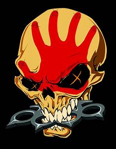 Five Finger Death Punch Skull PSD By JohnRavenwolf On