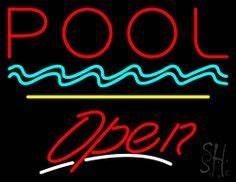 1000 images about Pool Open Neon Signs on Pinterest