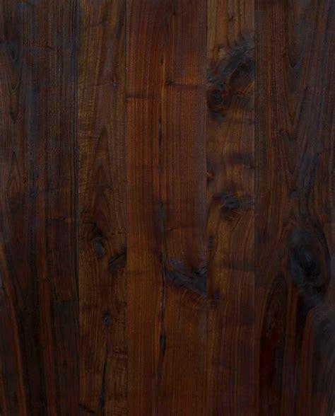 Longleaf Lumber   Reclaimed Walnut Flooring (Black)