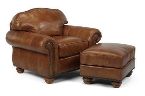 flexsteel bexley leather sofa price flexsteel bexley traditional chair and ottoman with nail