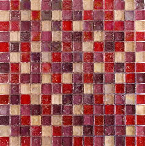 hammered pearl pink mosaic glass mosaic tiles for bathroom