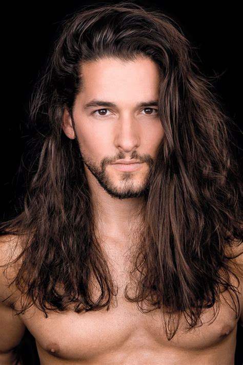 Pin by Michele Hauf on *Gael*   Long hair styles men, Long ...