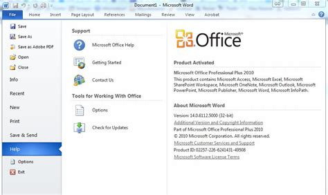 Office Version by Microsoft Office Executable Version Numbers David Vielmetter