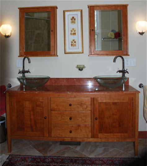 shaker bathroom vanities  double sinks