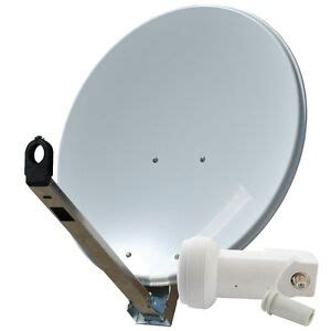 sat schüssel mit lnb sat sch 252 ssel gibertini spiegel 85 cm antenne alu mit single lnb 0 1db hdtv ebay