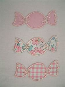 Au Fil Du Tissu : bonbons et appliqu s au fil du tissu ~ Melissatoandfro.com Idées de Décoration