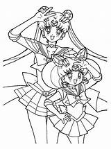 Sailor Moon Coloring Pages Princess Disney sketch template