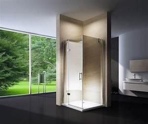 Cabine De Douche Receveur Haut : cabine de douche en coin en verre nano ex403 90 x 90 x ~ Edinachiropracticcenter.com Idées de Décoration