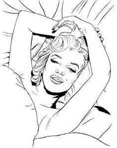 25 Best Marilyn Monnroe coloring pages images | Coloring