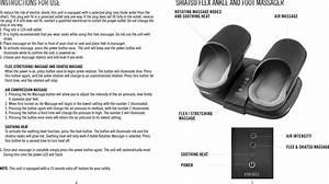 Homedics Shiatsu Massager With Heat Instructions
