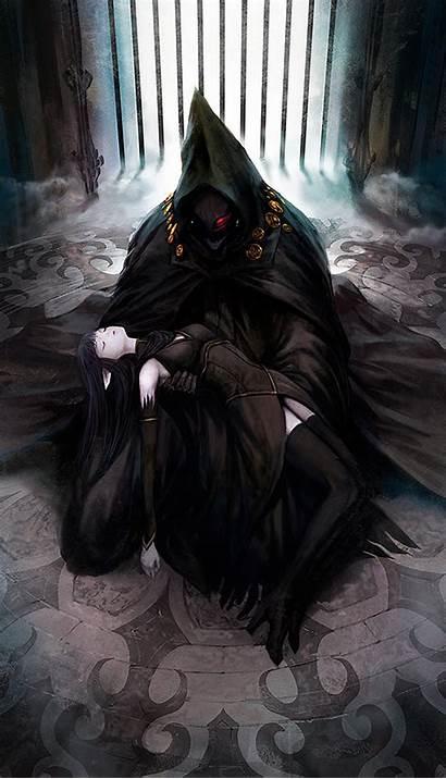 Reaper Pixiv Grim Anime Fantasia Sword Regalia