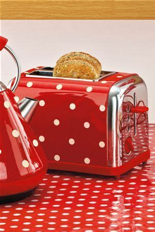 polka dot toaster and kettle polka dot toaster and kettle stuff