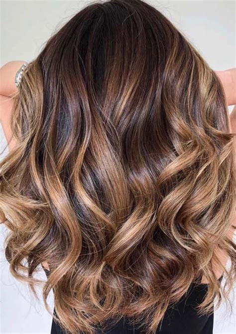 awesome caramel highlights     year  hair color caramel ombre hair color