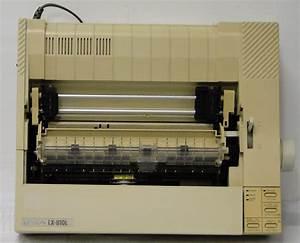 Impressora Epson Lx 810l  U2013 Museu De Tecnologia Da Unoeste