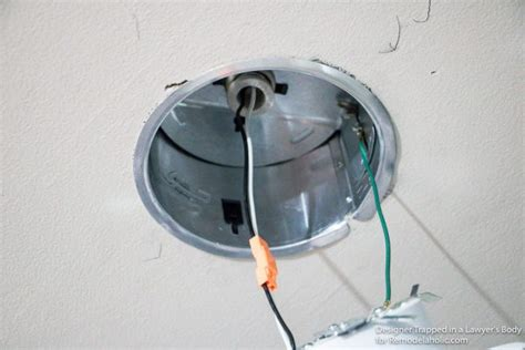 how to install can lights remodelaholic how to install recessed lights without