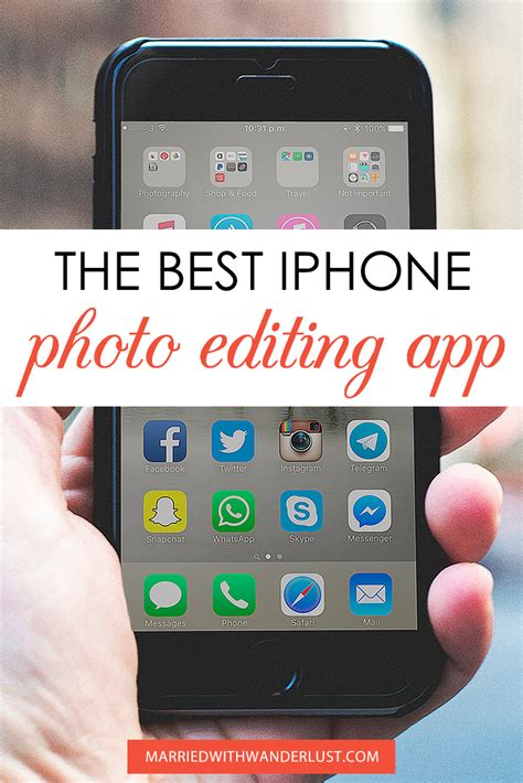 best iphone photo apps the best iphone photo editing app married with wanderlust