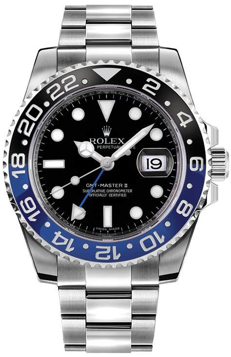 116710BLNR Rolex GMT-Master II Batman Men's Watch