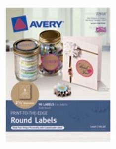 home organization labels averyr print to the edge round With avery 2 round label template