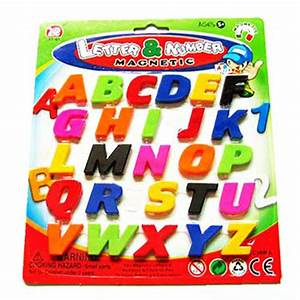 assorted child kids magnetic lettersnumbers learning toy With learning numbers and letters toys