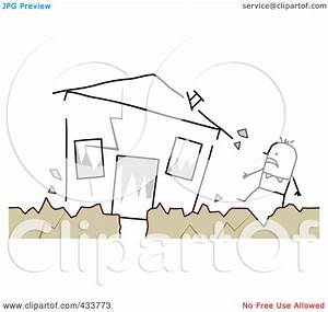 Royalty-Free (RF) Clipart Illustration of a Stick Man ...
