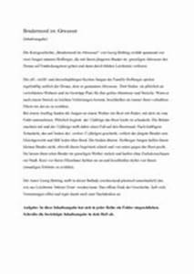 Brudermord Im Altwasser Pdf : 4teachers lehrproben unterrichtsentw rfe und ~ A.2002-acura-tl-radio.info Haus und Dekorationen