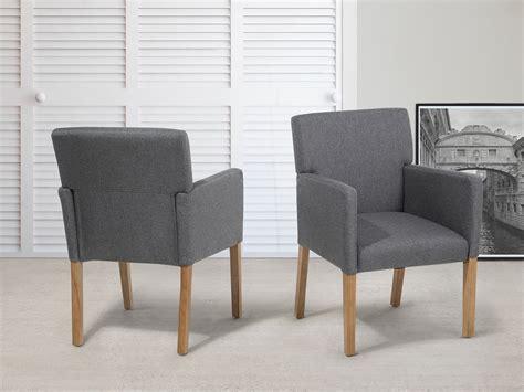 chaise tapissier chaise en tissu fauteuil tapissier salle 224 manger gris ebay