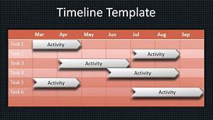 powerpoint workstream timeline template images With timeline template powerpoint 2010