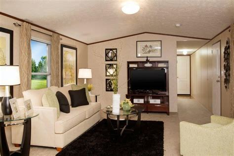 Room Decorating Ideas For Mobile Homes by Living Room Of Tru Foreman Mobile Home Tru Foreman 14 X
