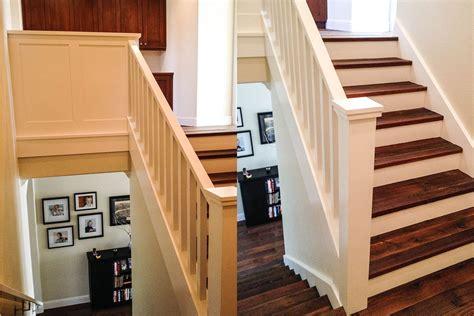 craftsman stair rail cabinet ironwood carpentry