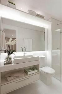Abat Jour Salle De Bain : 1001 id es pour un miroir salle de bain lumineux les ambiances styl es ~ Melissatoandfro.com Idées de Décoration