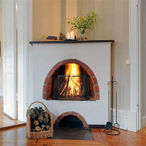 real life scandinavian fireplaces shelterness