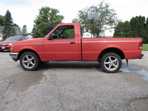 sell   ford ranger regular cab xlt pickup truck