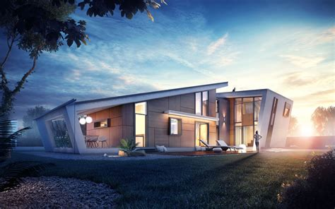 Home Design 3d Roof : Types Of Modern Home Exterior Designs With Fashionable And