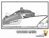 Cruise Coloring Ship Pages Ships Boat Liner Print Stupendous Yescoloring Boats Outs Printables Cruises Sail sketch template