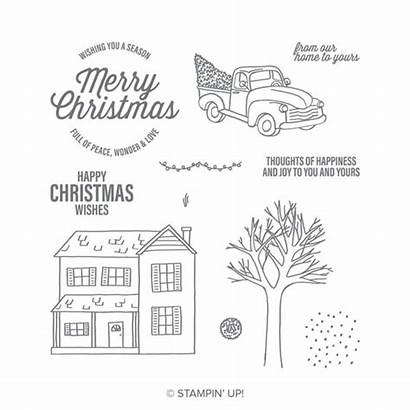 Stampin Stamp Farmhouse Photopolymer Clearance Rack Sets
