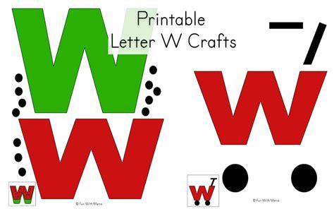 letter w crafts letter w worksheets for preschool kindergarten