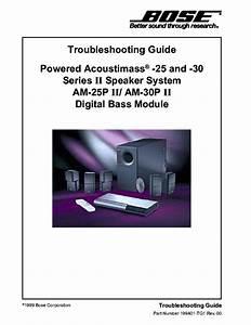 Bose Wave Radio I Ii Iii Troubleshooting Guide Service