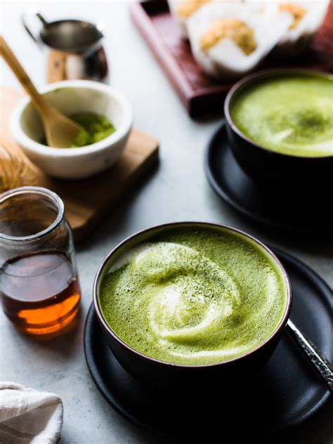 Almond Matcha Green Tea Latte  Kitchen Confidante®