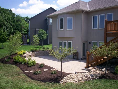 patio landscaping ideas patios and retaining walls