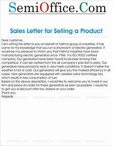sales letter for selling something to new customer With a sales letter