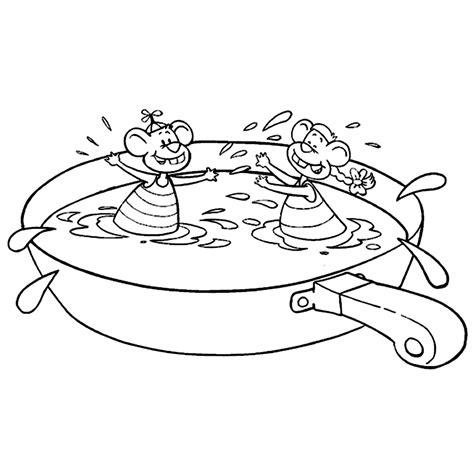 Kleurplaten Een Zwembad by Leuk Voor Wizzy En Woppy In Een Zwembad