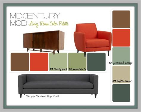 modern home interior color schemes 1000 images about mid century modern paint colors on