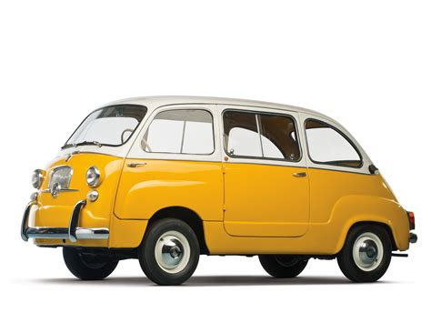 Fiat Multipla 600 by Fiat 600 D Multipla 1960 67