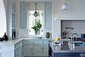 Painted kitchen cabinets photos architectural digest for Best brand of paint for kitchen cabinets with wall art los angeles